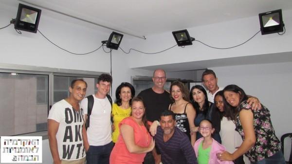 סדנת אמן עם דורון מדלי, האקדמיה לאמנויות הבמה של דים אמור